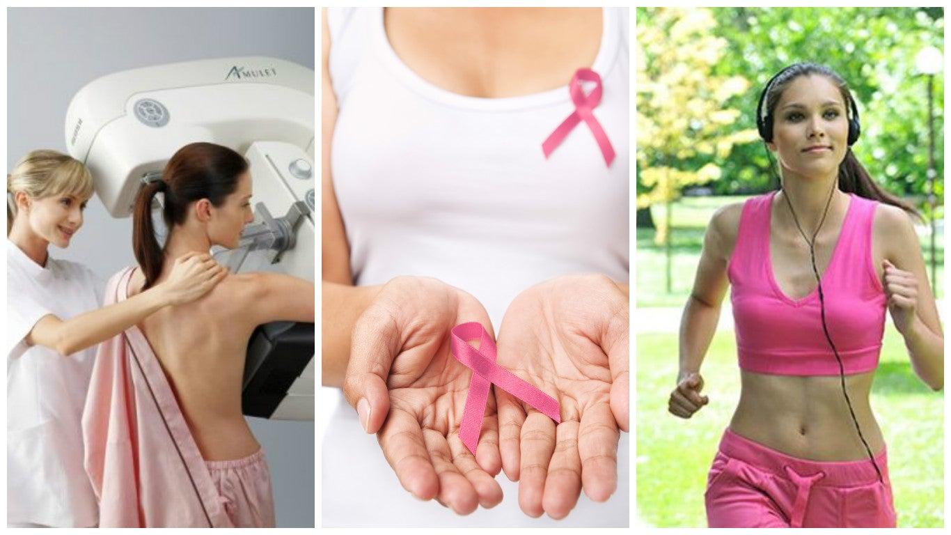 8 hábitos que te ayudan a reducir el riesgo de cáncer de mama