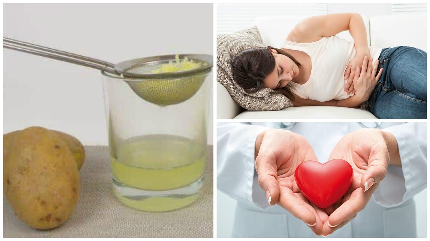 7 increíbles beneficios que obtienes con el jugo de patata cruda