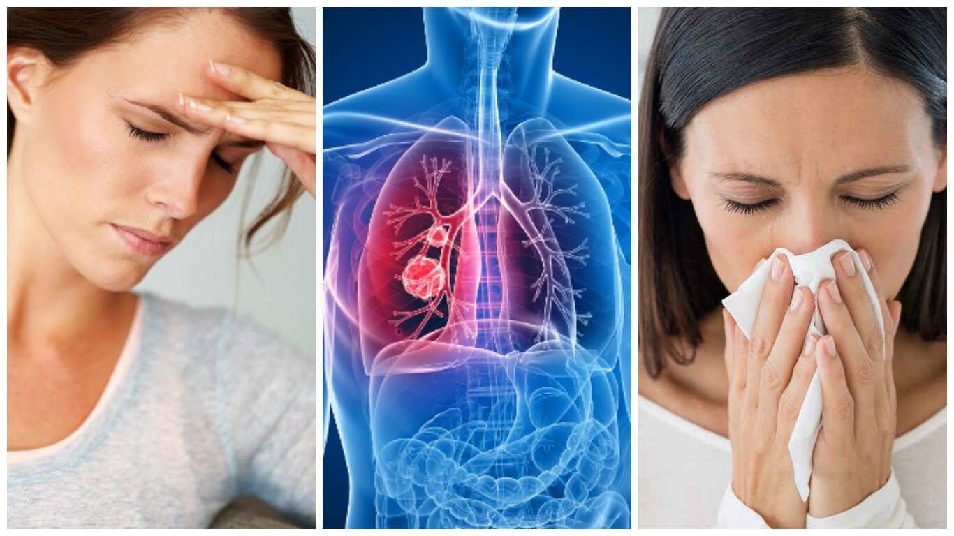 8 síntomas de cáncer de pulmón que no debes pasar por alto