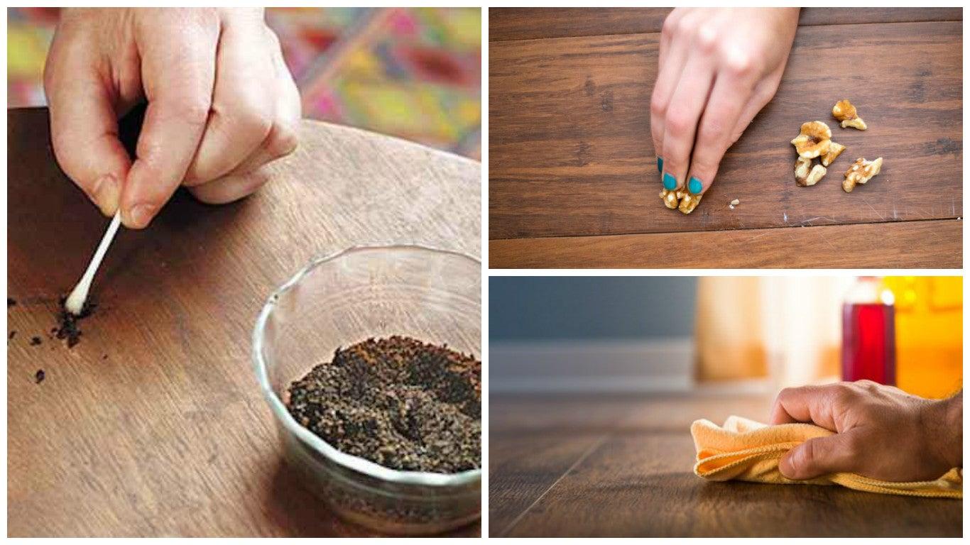 8 Trucos Para Restaurar Los Ara Azos De Tus Muebles De Madera  # Como Secar Muebles Mojados