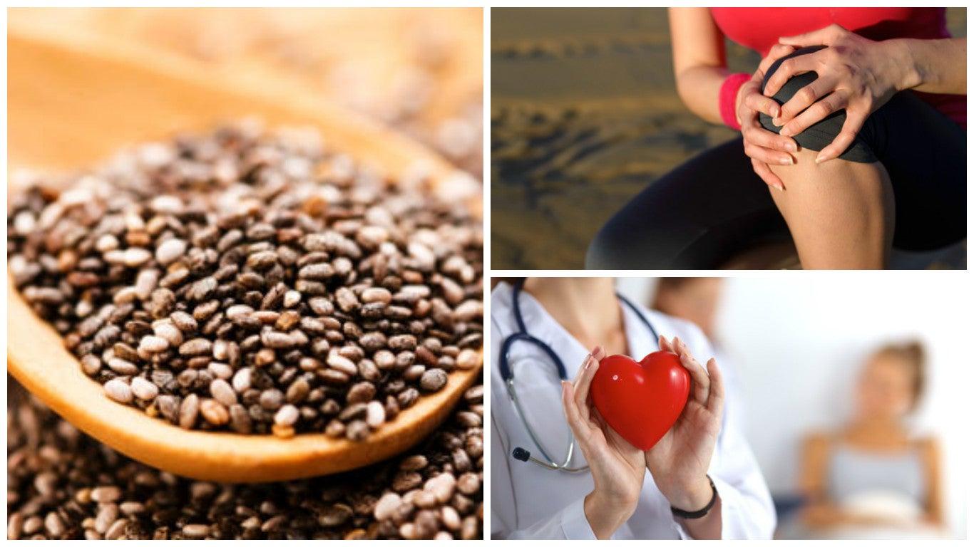 9 interesantes beneficios que obtienes cuando consumes semillas de chía