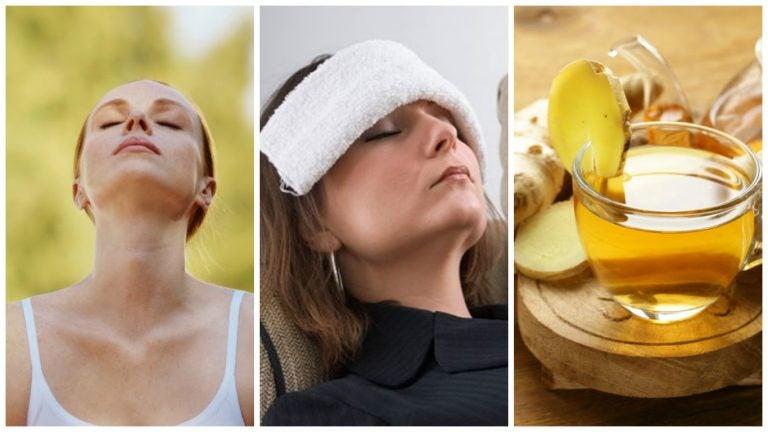 6 consejos para aliviar el dolor de cabeza sin pastillas