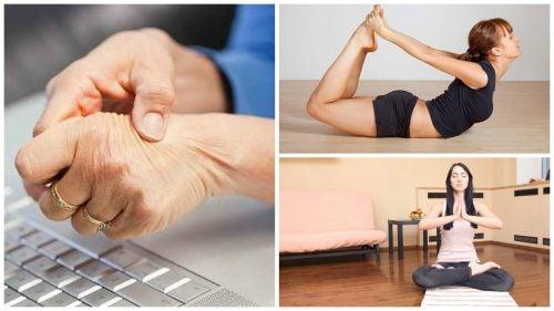 Alivia el túnel carpiano con estos 5 ejercicios de yoga