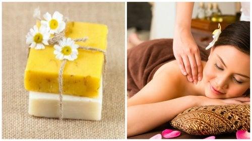 Cómo preparar tus propias barritas para masajes con ingredientes naturales