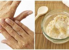Cómo preparar un exfoliante natural de azúcar para suavizar las manos