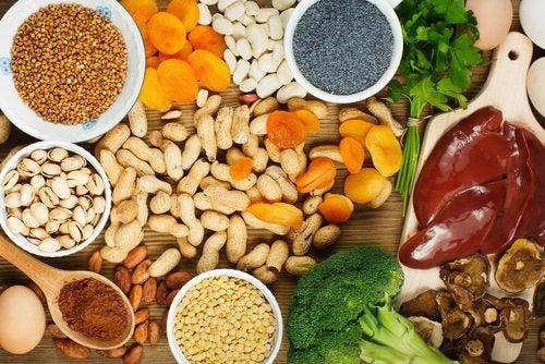 Resultado de imagen de sube tus defensas alimentos que cntienen hierro