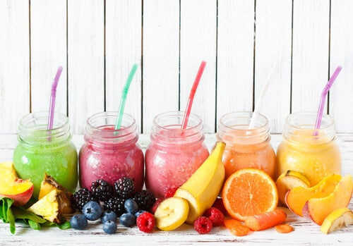 Jugos naturales - frutoterapia
