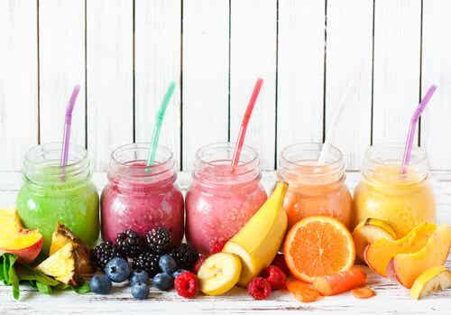 Sabrosos jugos de fruta natural: la mejor opción