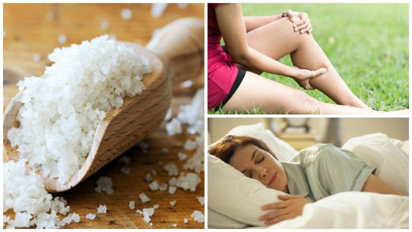 Los 10 beneficios que la sal marina le aporta a tu cuerpo