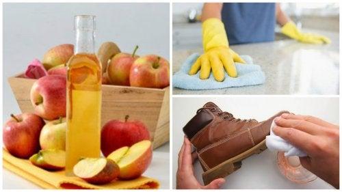 Los 7 mejores usos domésticos que le puedes dar al vinagre de manzana