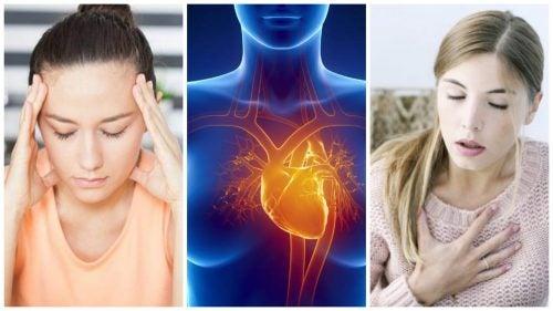 Los 7 síntomas de infarto femenino que suelen pasar desapercibidos