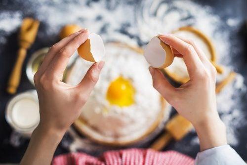 Membrana de huevo para los pezones agrietados