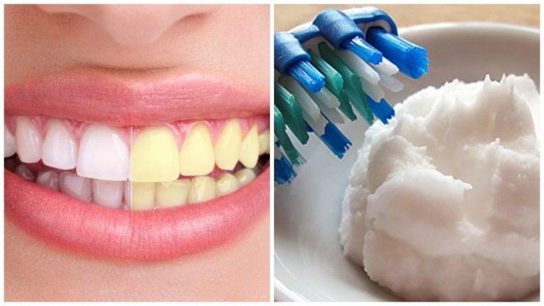 Prepara una pasta dental blanqueadora para eliminar la placa y las bacterias