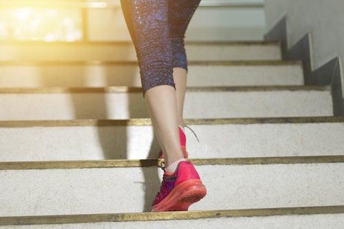 cuantas veces debo subir y bajar escaleras para bajar de peso