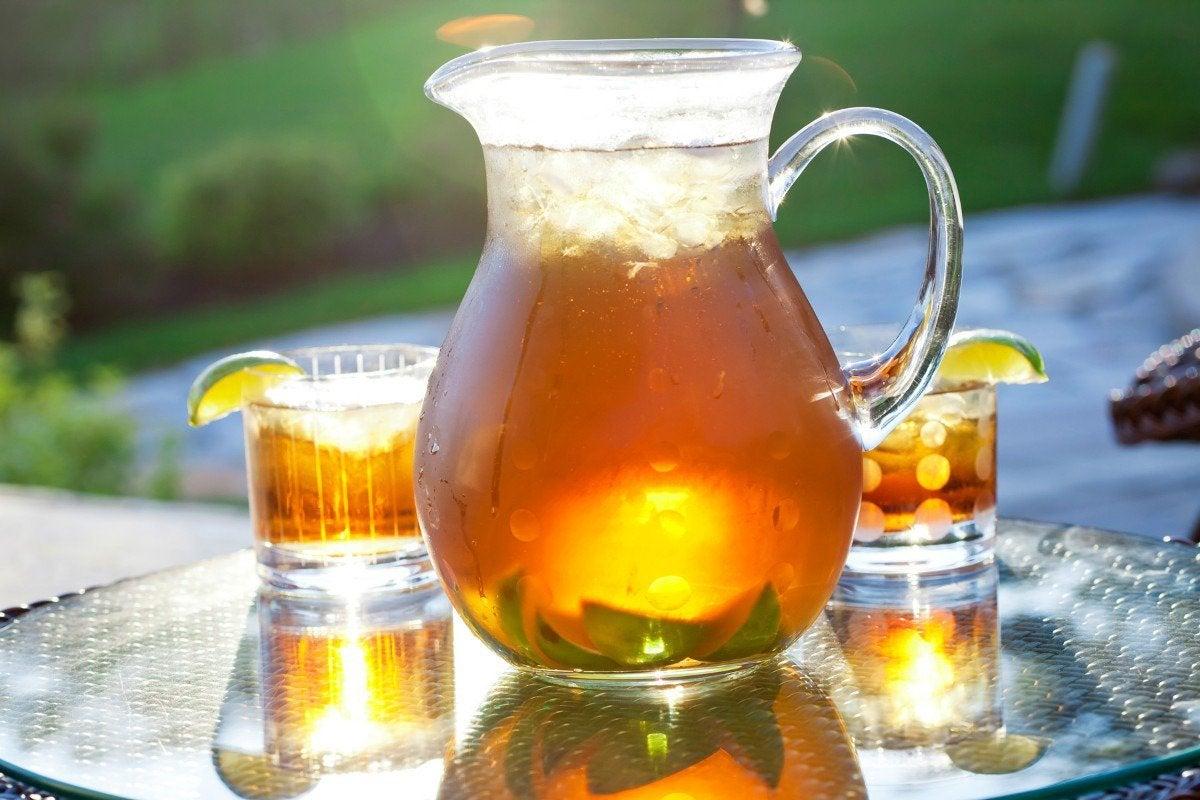 jarra de té helado