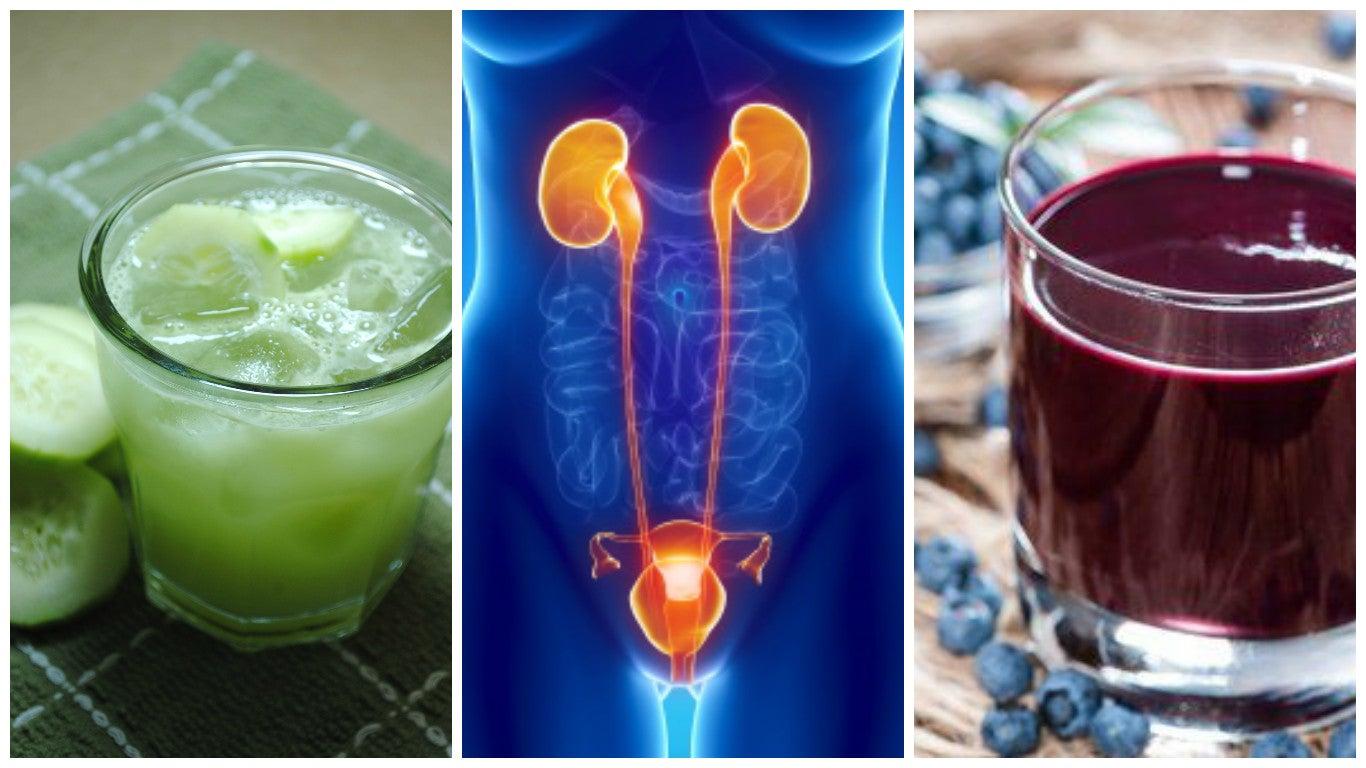 6 bebidas naturales para tratar las infecciones urinarias
