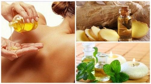 Alivia el dolor de espalda con estos 6 aceites esenciales