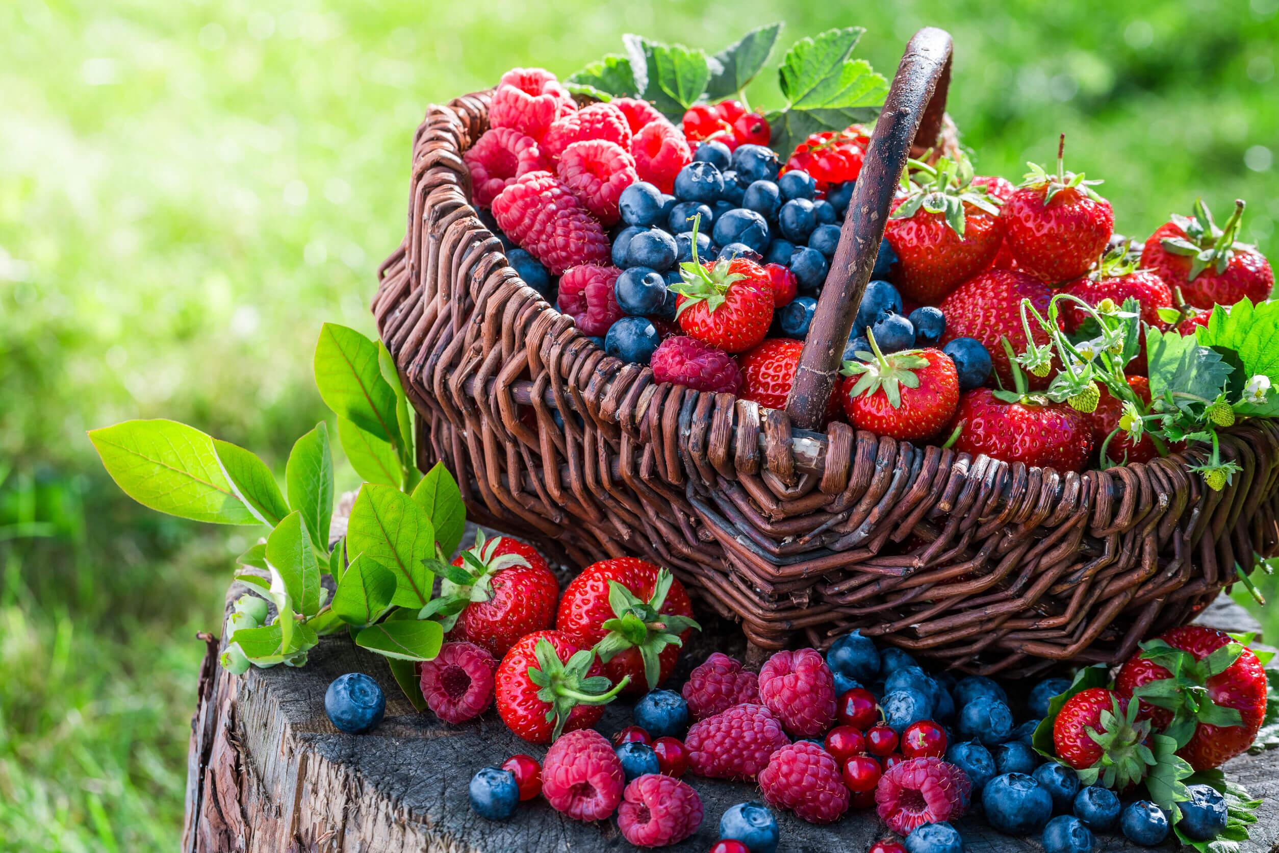 Para proteger tu piel del sol puedes consumir frutos rojos.