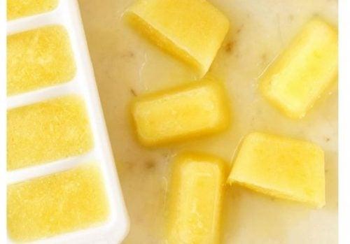 Cómo preparar cubitos de limón congelado: ¡Tu sistema inmunitario lo agradecerá!