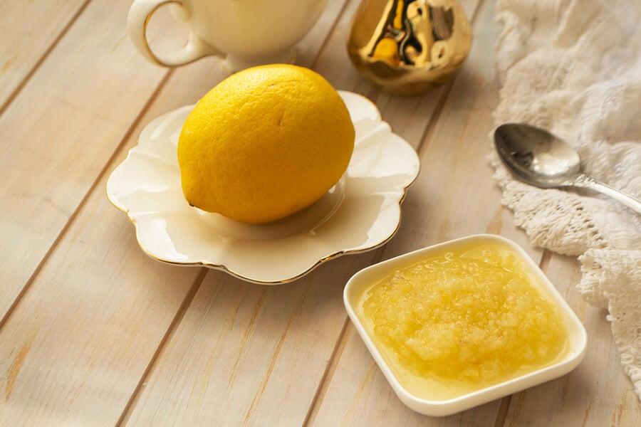 Limón y glicerina