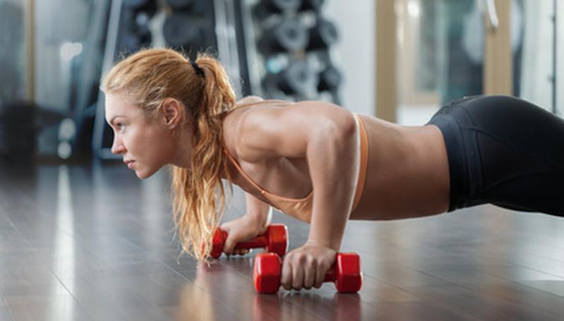 Masa muscular en la mujer
