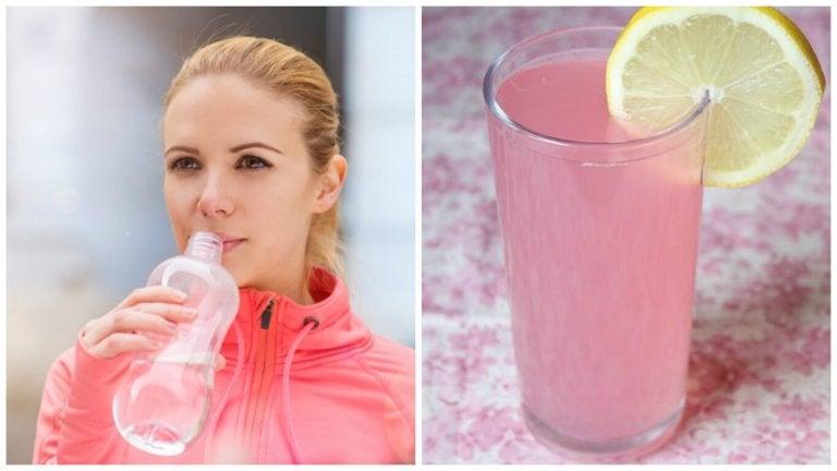 Cómo preparar una bebida isotónica casera para rehidratar tu cuerpo