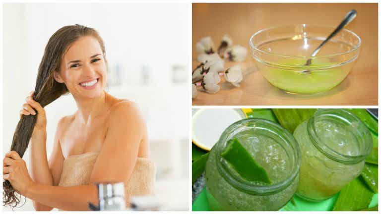 Cómo preparar un gel perfumado para el cabello con ingredientes naturales