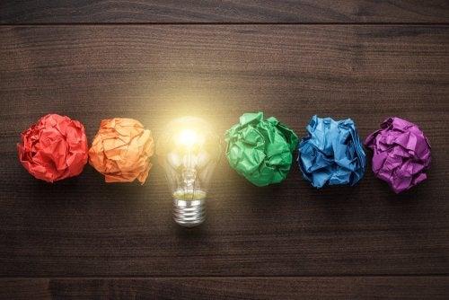 creatividad papeles