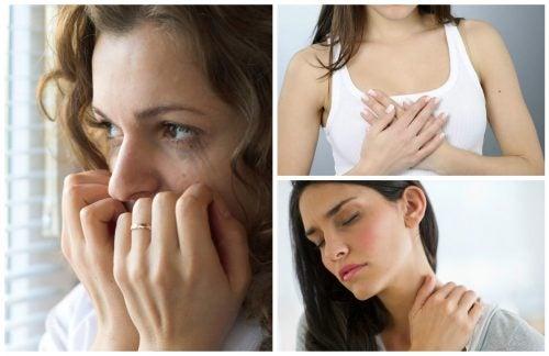 10 señales físicas que experimentas cuando tienes ansiedad