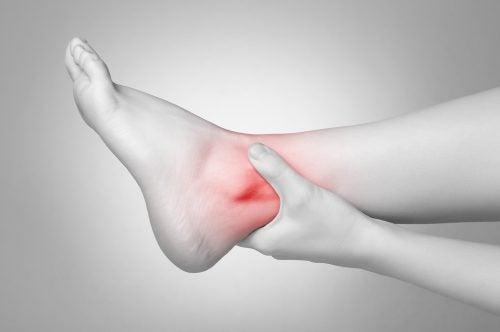 Inflamacion de tobillo derecho