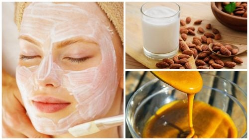 5 usos que le puedes dar a la leche de almendras para embellecer tu piel
