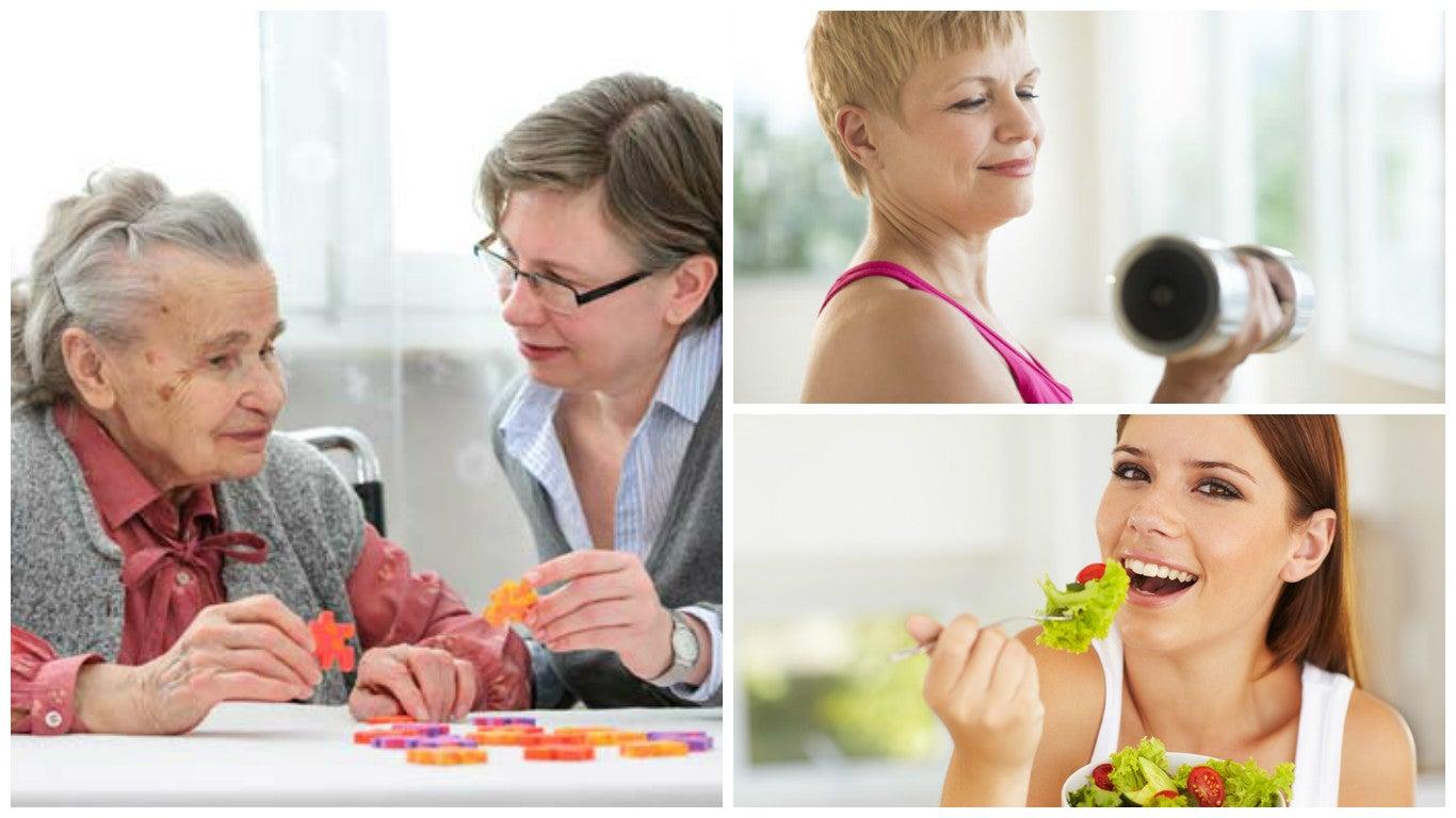 6 buenos hábitos que te ayudan a reducir el riesgo de demencia
