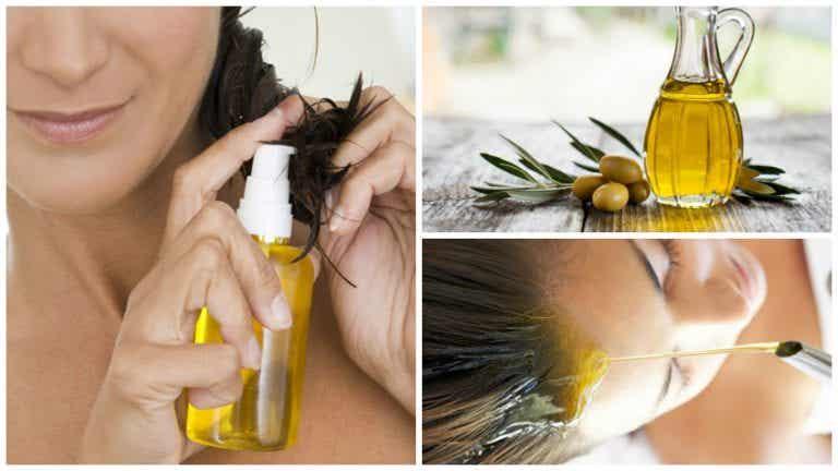 6 maneras de utilizar aceite de oliva para embellecer tu cabello