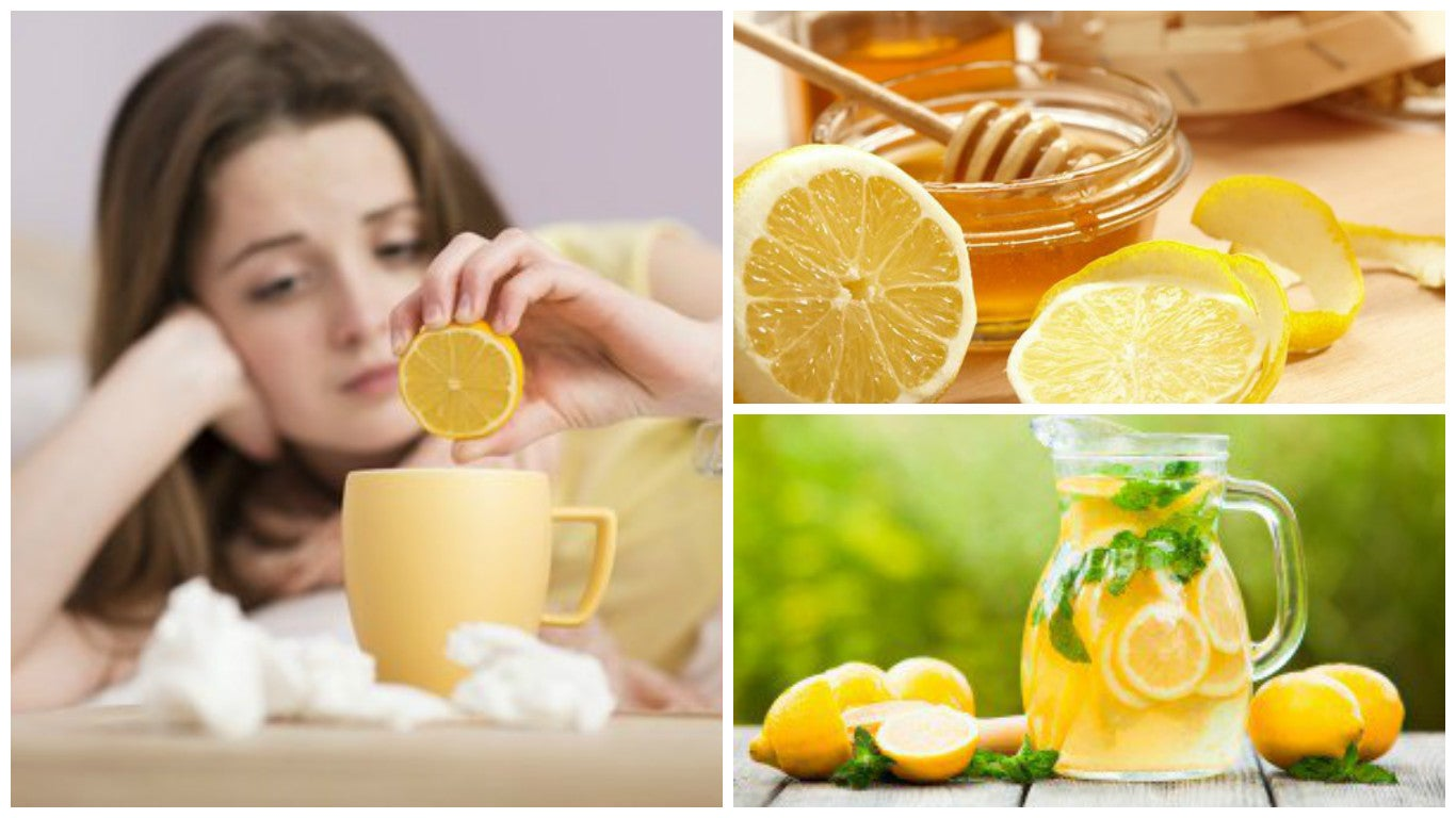 6 remedios naturales que puedes preparar con limón