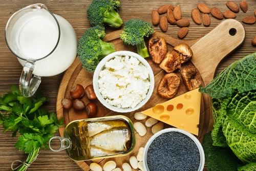 Alimentos con calcio para una dieta para el lupus