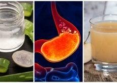 Alivia la acidez estomacal preparando estos 5 remedios naturales