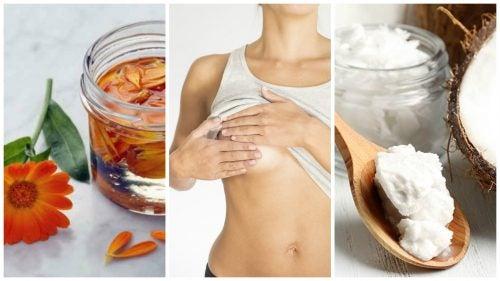 8 remedios caseros y naturales para pezones agrietados