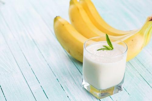 Batido de plátano.