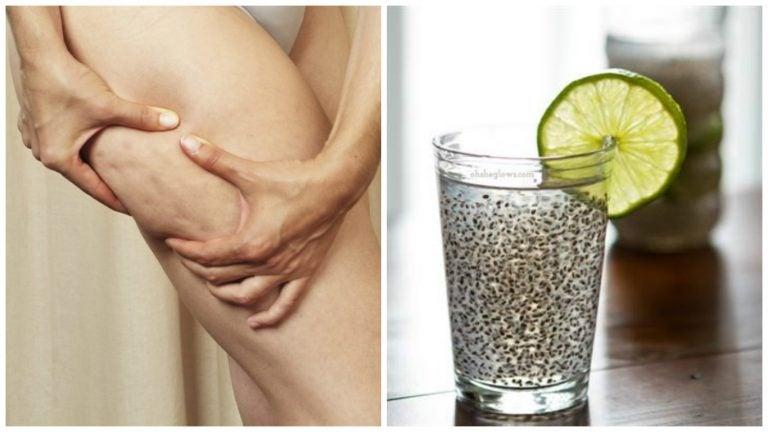 Bebida medicinal de linaza para combatir la celulitis y mejorar la salud de la piel
