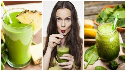 Cómo preparar 5 batidos verdes para depurar el cuerpo y bajar de peso