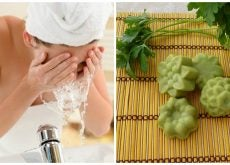 Cómo preparar un jabón natural de perejil para atenuar las manchas del rostro