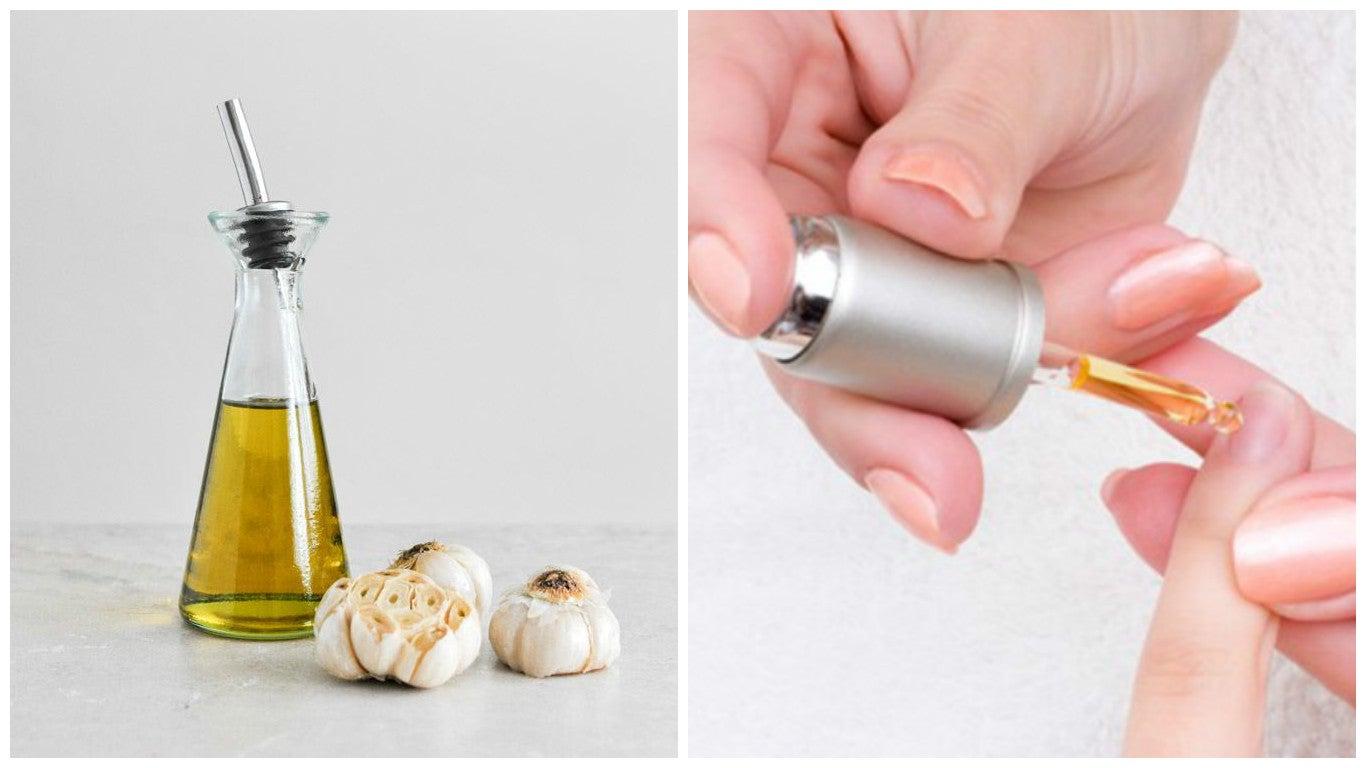 Cómo preparar una loción de aceites y ajo para endurecer las uñas