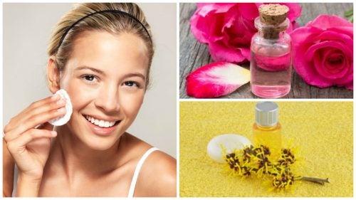 Cómo preparar una loción de rosas y hamamelis para tonificar tu piel