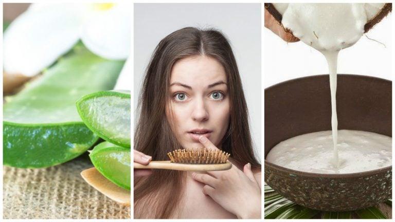 Combate la caída del cabello con estos 6 remedios caseros
