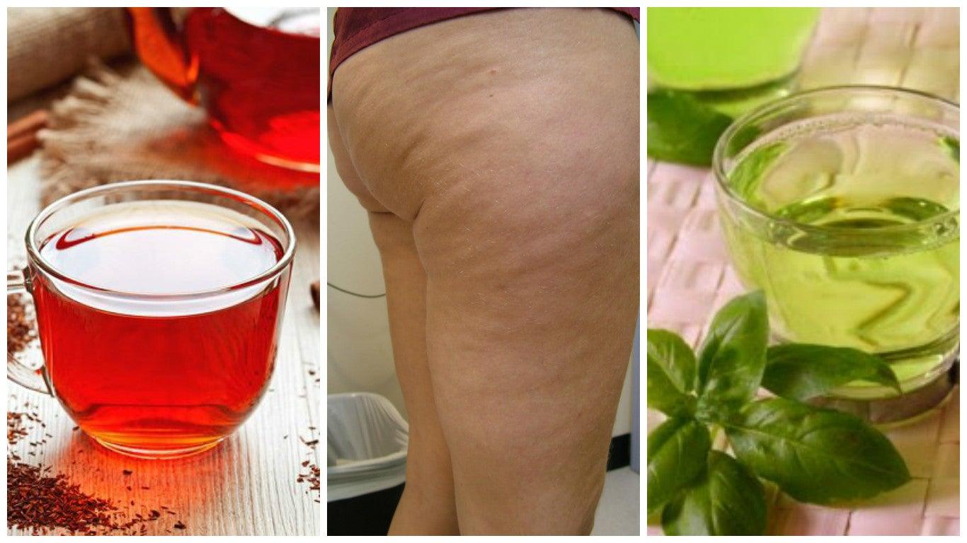 Combate la celulitis con estas 6 bebidas herbales