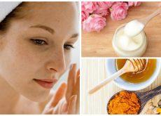 Disminuye las manchas de tu rostro con estas 5 cremas naturales
