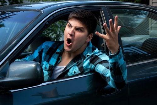 La agresividad al volante