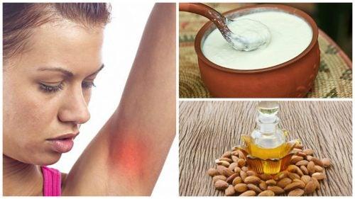 Axilas irritadas: los 7 mejores remedios caseros