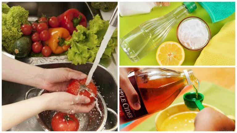 Los 7 mejores trucos para desinfectar tus frutas y vegetales