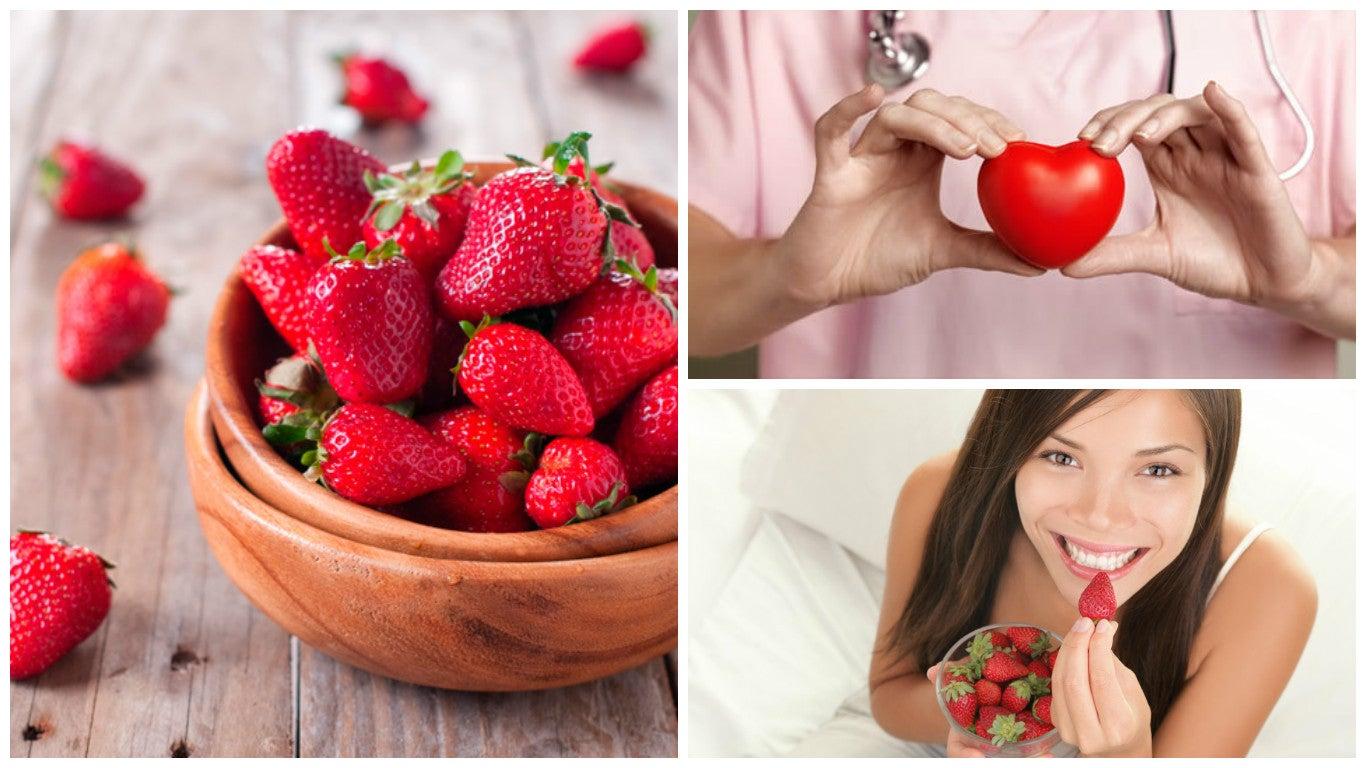Los 8 beneficios que las fresas le aportan a tu salud